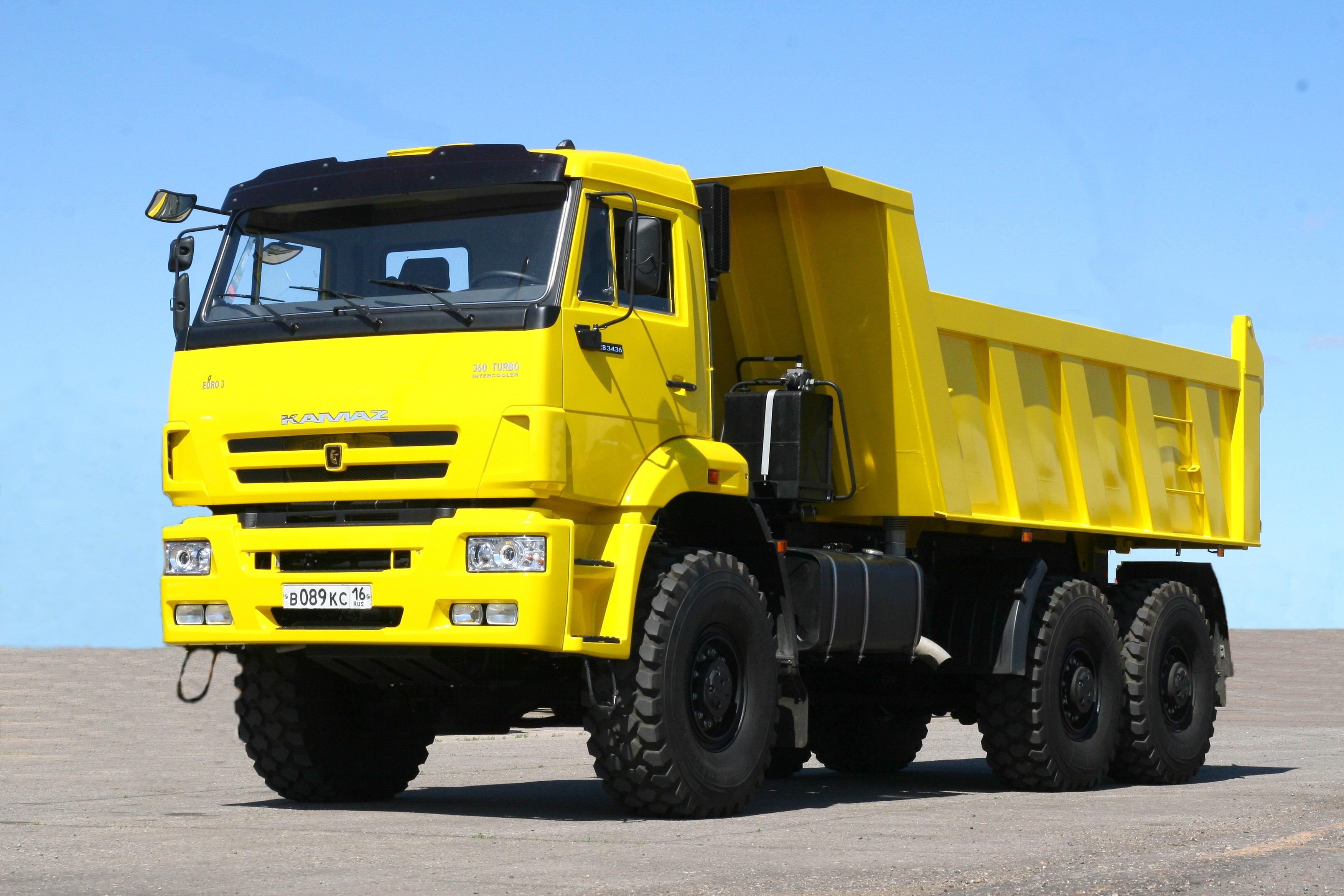 Самый большой грузовик в мире — liebherr